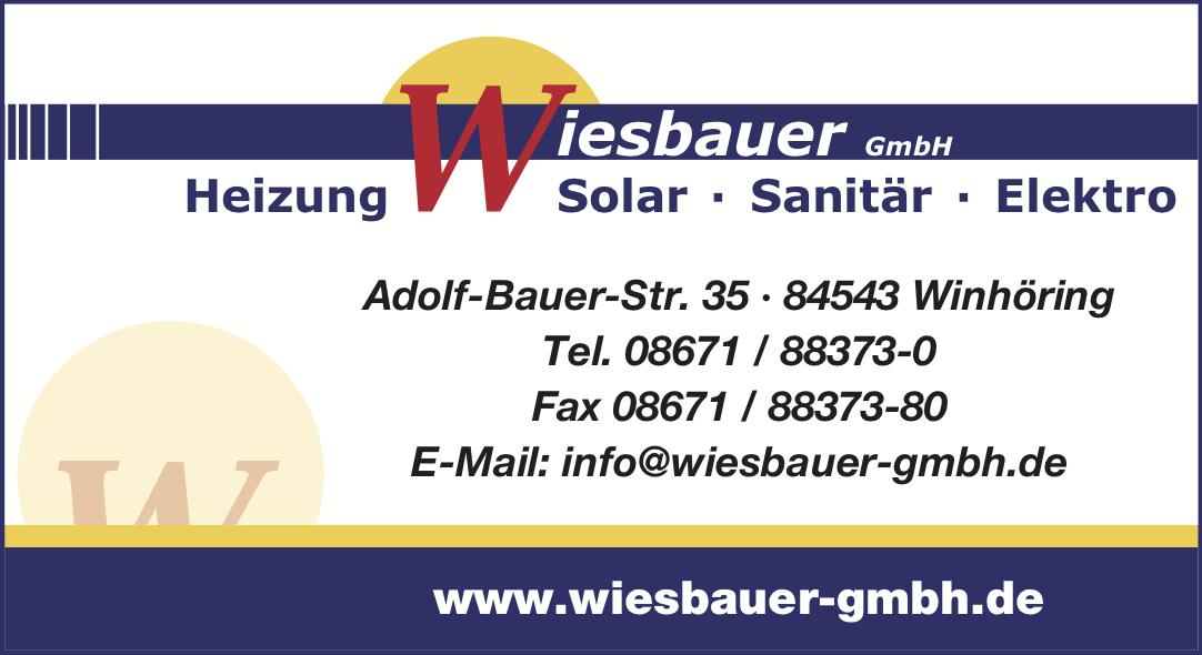 Firmenlogo Wiesbauer GmbH